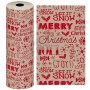 christmas wrapping paper 62cmx125m
