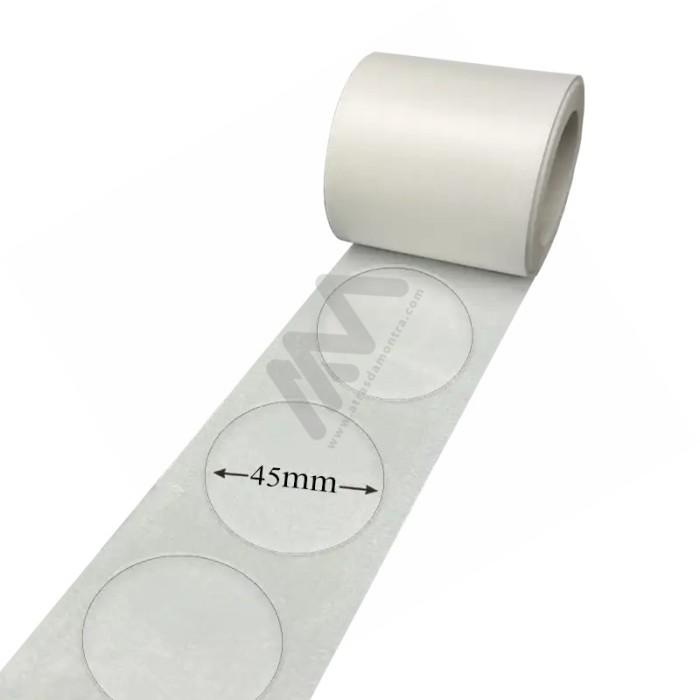 43L Supermarket plastic basket w / wheels