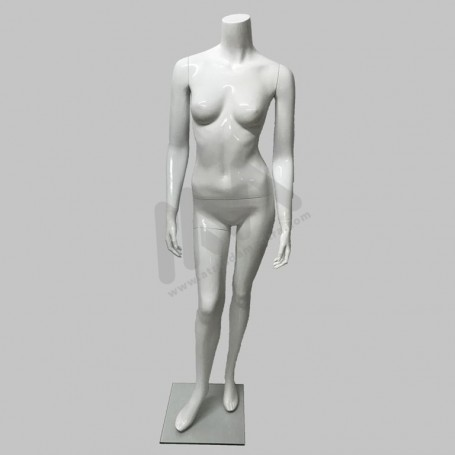 Female Mannequin white headless