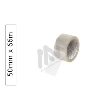 Q-Connect  Clear Adhesive Tape 50mm x 66m