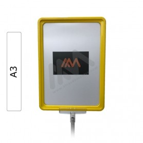 Yellow Frame A3 with envelope