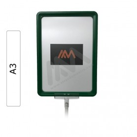 Green Frame A3 with envelope