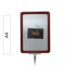 Red Frame A4 with envelope