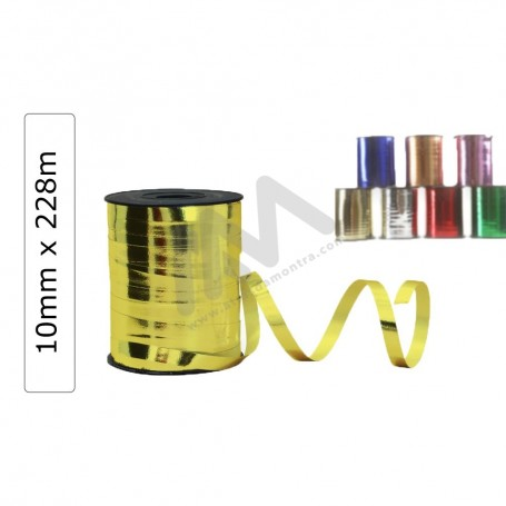 METAL decorative wrapping tape 10mm x 228m