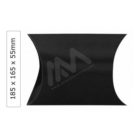 Caixas para presentes Preto 185x165x55mm - Pack de 50 uni