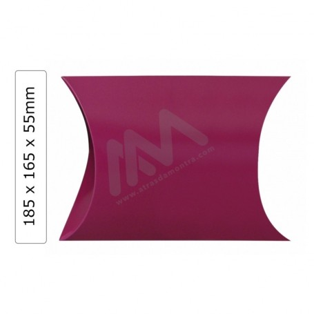Caixas para presentes Rosa 185x165x55mm - Pack de 25 uni