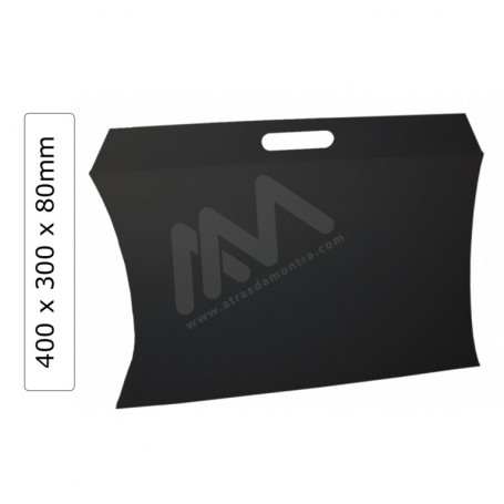 Caixas para presentes Preto 400x80x300mm - Pack de 25 Uni
