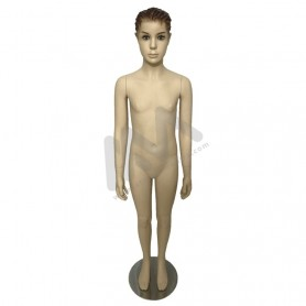 Boy mannequin with head - 10/12 years