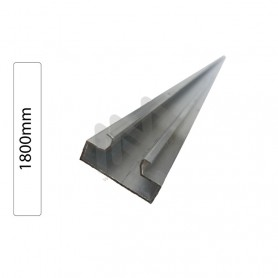 1800 Aluminium Profile for Slatwall