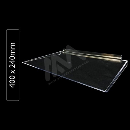 Acrylic shelf 400x240mm