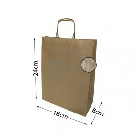 Brown Kraft paper bags 18x24x8