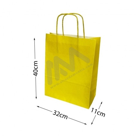 Yellow Paper Bags 32x40x11
