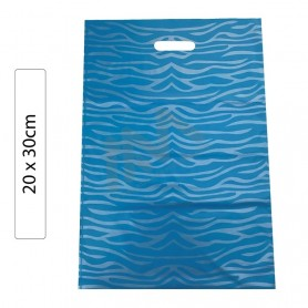 Whte Fantasy 20x30 plastic bags - Pack of 100 units.