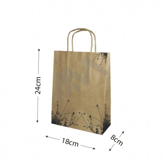 Brown Kraft paper bags 18x24x8