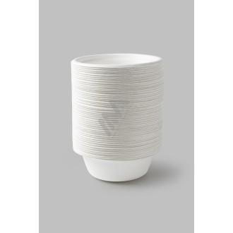 Sacos Plástico Asa Vazada Reforçada Branco 25x35 - Pack de 100 Unidades c/ 60 microns