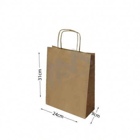 Brown Kraft paper bags 24x31x9