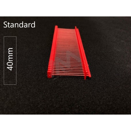 Red Tag Pin standard  for tagging gun 40mm