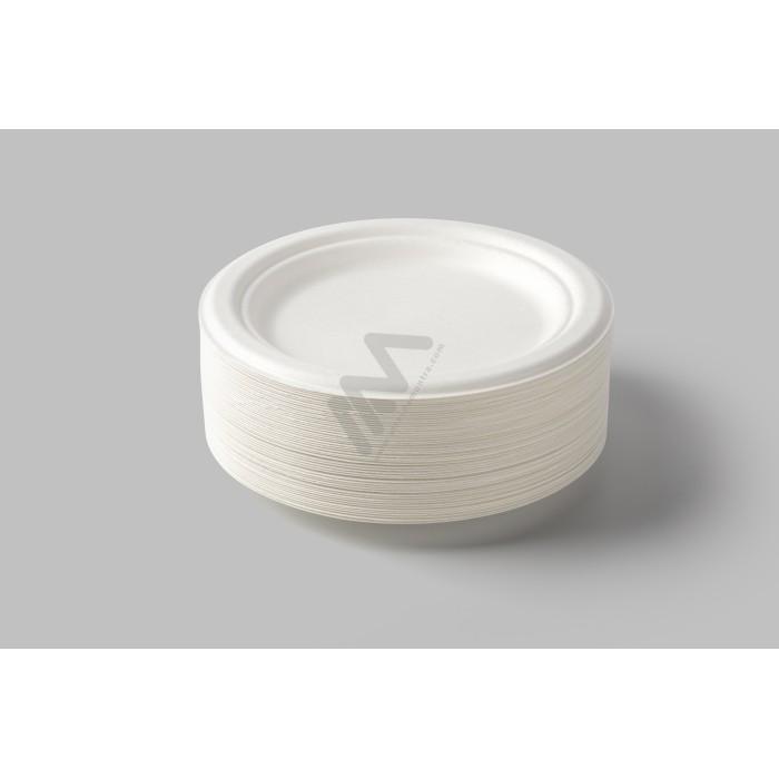 Sacos Plástico Asa Flexível Branco 45x45+5 - Pack de 50 Unidades c/ 60 microns