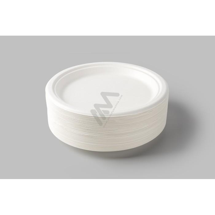 Sacos Plástico Asa Vazada Reforçada Rosa 25x35 - Pack de 100 Unidades c/ 60 microns