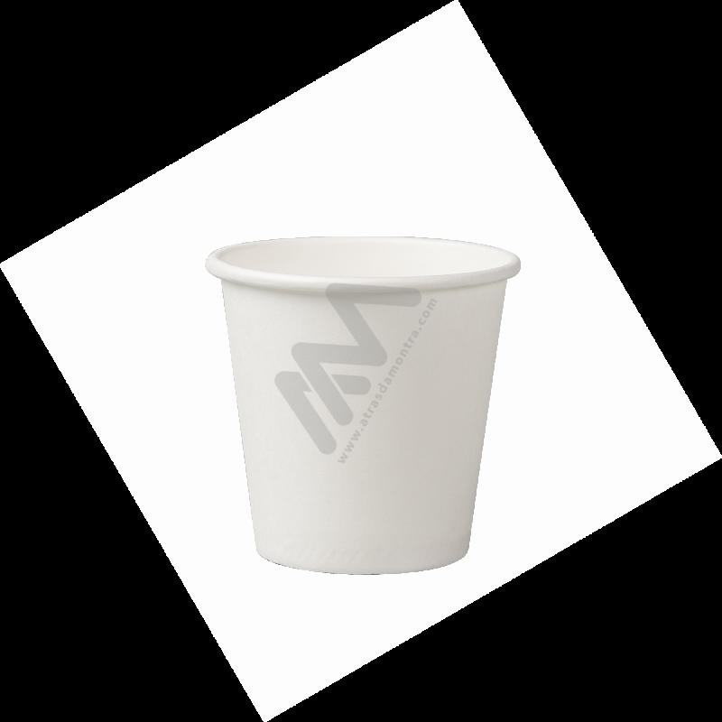 Sacos Plástico Asa Vazada Reforçada Branco 40x50 - Pack de 100 Unidades c/ 60 microns
